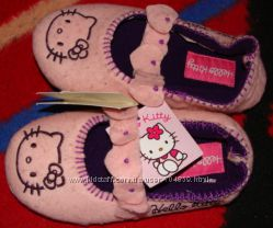 Тапочки утепленные Hello Kitty
