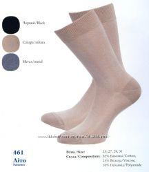 Тонкие летние носки из хлопка с вискозой, шелковистые на ощупь. Легка хода