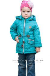 Модные весенние курточки-парки на  2-6 лет
