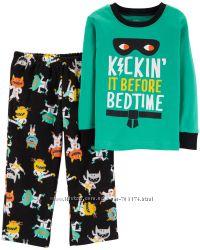 Пижама Carters 2Т 3Т хлопок/флис