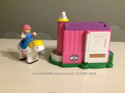 WOW Toys Конюшня с лошадкой Молли Misty &acuten´ Molly