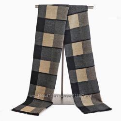 Мужской шарф кашемировый узкий под пальто купить в магазине Катакали
