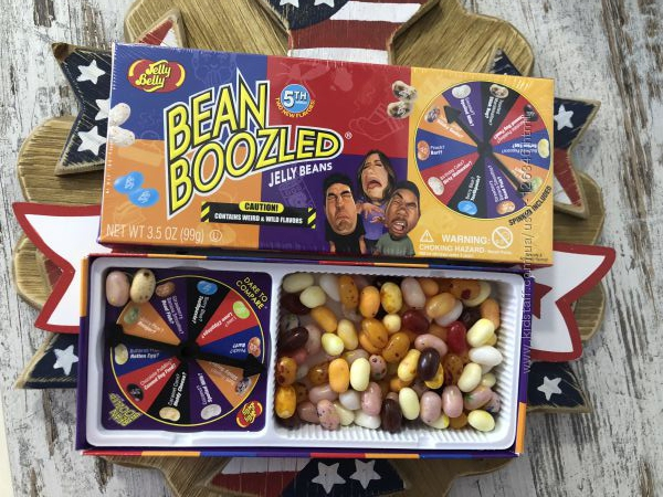 США Игра рулетка конфет Гарри Поттера JELLY BELLY Bean Boozled