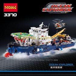 Конструктор Decool 3370 аналог Lego Technic 42064 Исследователь океана