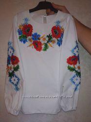 Вышиванка вишиванка сорочка вишита бисером бісером 7-8лет бисер бісер 93f25a70318f9