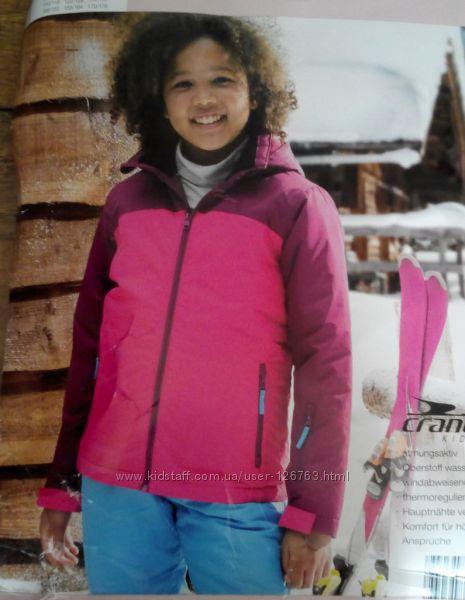 Лыжная куртка мембрана термо Crane 170-176