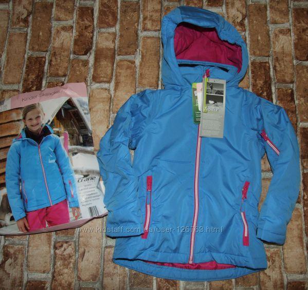 новая куртка лыжная CRANE 5-6 лет или деми