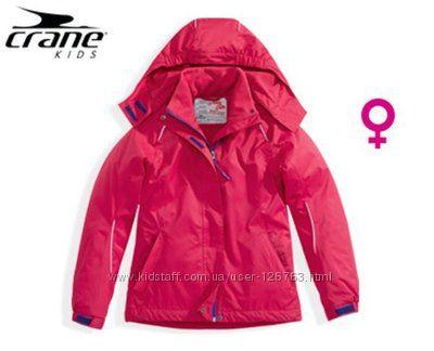 новая куртка термо лыжная деми crane 10-12 лет