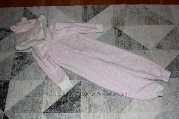Тепленький человечек пижама F&F на 2-3 года рост 98 см