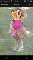 Костюмчик феи  с крылышками или цветочка1, 5-2, 5г