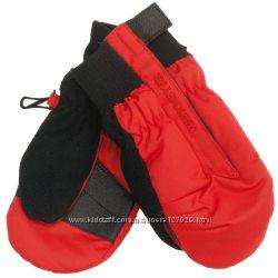 новые варежки-краги Obermeyer  M красные
