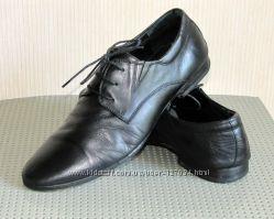 Кожаные туфли, р. 40-41, стелька 27 см