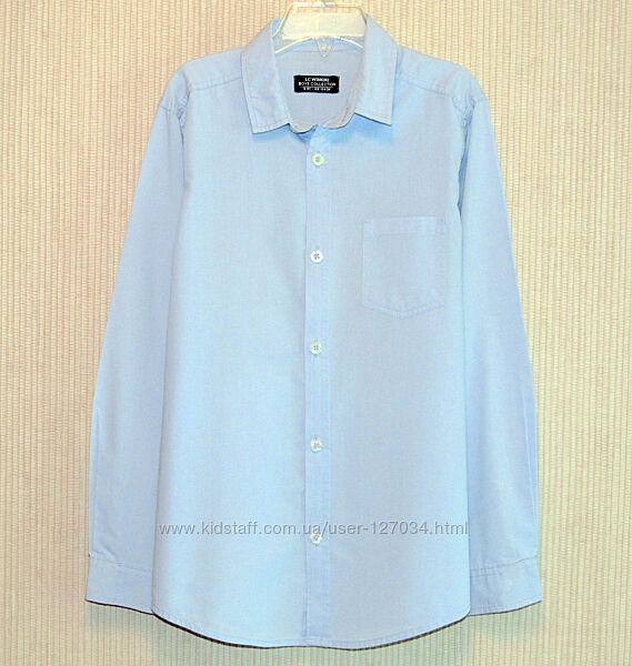 Фирменная голубая рубашка, от 8 до 10 лет, новая