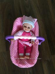 Dolls World Пупс Изабелла в автокресле