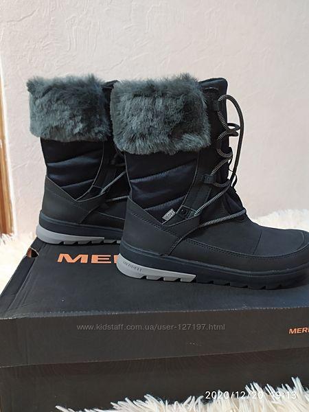 Зимние сапоги Merrell для девочки 36 размер