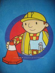 фирменное махровое полотенце Боб-строитель