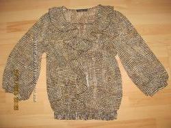 Блуза коричнева 14роз.