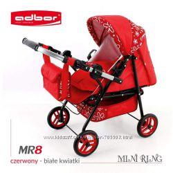 Детская коляска для куклы Adbor Mini Ring