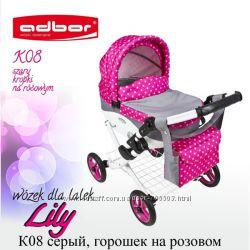 Коляска для куклы Adbor Lily