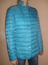 Куртка новая М Италия насищений бирюзовий
