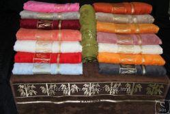 Хит продаж Бамбуковые полотенца Arya  в трех размерах