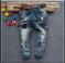 В наличии Супермодные плотные рваные джинсы с заклепками и потертостями