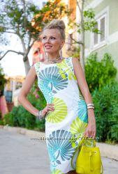 Распродажа Стильное летнее коттоновое платье с камнями ТМ Indiano  S, XL