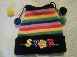 Яркий деми комплект шапочка  шарфик