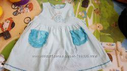 Праздничные платья и сарафаны для Вашей принцессы 12-24 мес.  Отличное сост