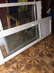 Окно и дверь балконная пластиковые