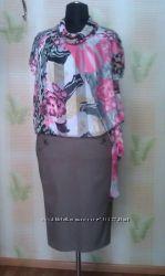Стройнящая юбка-карандаш