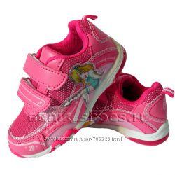 Распродажа. Яркие кроссовки для девочек. Р. 25-30