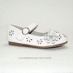 Распродажа. Красивые туфельки для девочек B&G. Р. 25