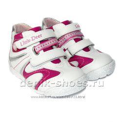 Распродажа. Демисезонные ботинки для девочек Little Deer.