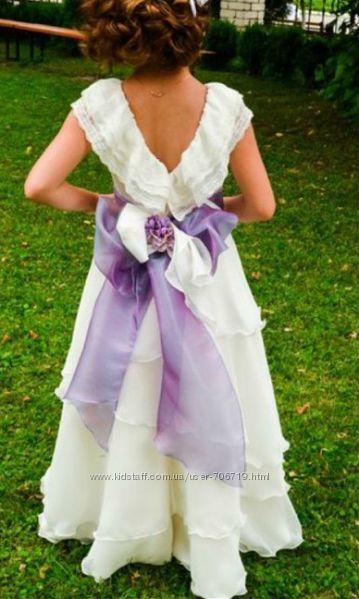Ексклюзивна дизайнерська сукня до Першого причастя d82a1bf40411d