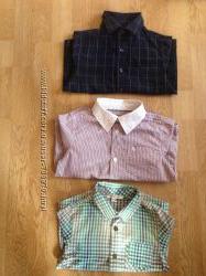 Рубашки на мальчика 2-5 лет