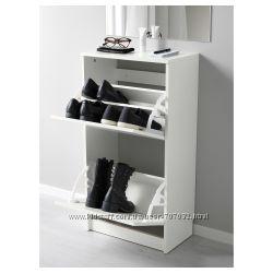Галошница, шкаф для обуви BISSA IKEA Икеа