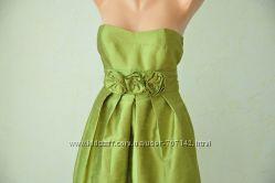 Платье коктейльное зеленого цвета