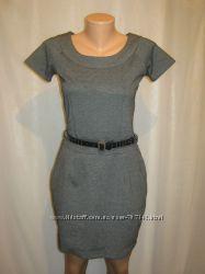 Платье женское трикотажное Chillin Crop серого цвета