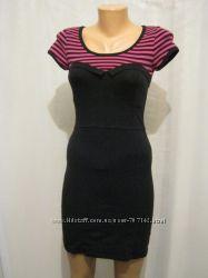 Платье Tally Weijl черное с розовым