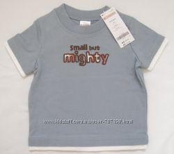 Новые футболки CARTERS, GYMBOREE 6-12 мес