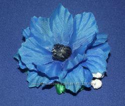 Цветок зажим на волосы или повязку