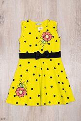 Платье для девочек 7 цветов 4-12 лет.17950