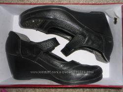 Кожаные туфли 39р-р