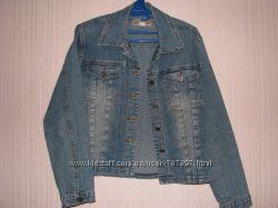 Джинсовая Куртка Курточка размер M, L смотрите замеры