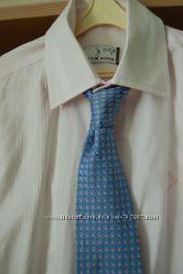 Рубашка   с галстуком  9, 10 лет
