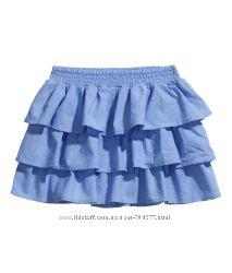Красивая юбочка H&M на 3-4 года, рост 104 см