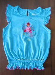 Нарядная маечка GLORIA JEANS на девочку, размер 86-92 см