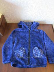 Флисовая кофта-шерпа H&M на девочку 2-4 лет