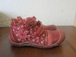 Демисезонные  кожаные ботинки  BEEKO, стелька 18, 5 см